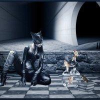 «Я Женщина-Кошка!» :: Angelina Ya