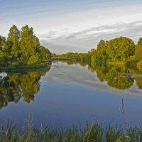 озеро на реке Свеча :: Людмила Василькова