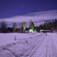 ночь в деревне :: Борис Устюжанин