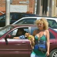 Дама с собачкой :: Игорь Попов