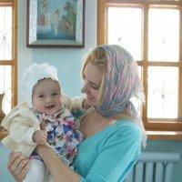 Крещение Катюшки :: татьяна вашурина