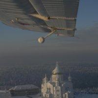Под крылом самолета :: Александра Вертгейм