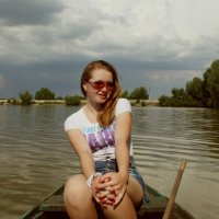 на лодке :: Ольга Андрієнко