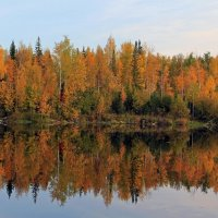 Осеннее отражение... :: Сергей