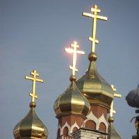Золотые маковки церквей... :: Мария К
