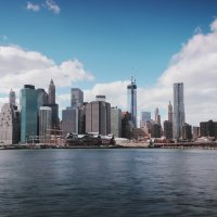 Набережная Нью-Йорка :: Galina Kazakova