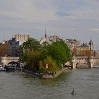Остров Сите-сердце Парижа. :: Ольга