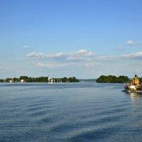 Озеро Химзее. Курс- на остров Фрауэнинзель. :: Надежда Лаптева