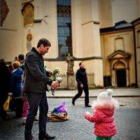 Цветы от любимого папы. :: Евгений Мокин