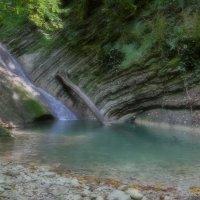 """Водопад """"Чудо-красотка"""" :: Андрей Ситников"""