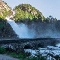 Водопад Лотефосс. Норвегия. :: Наталья Иванова