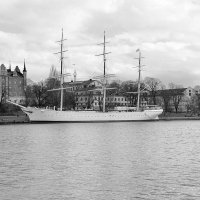 Стокгольм. Трёхмачтовый корабль «АF Chapman» :: Swetlana V