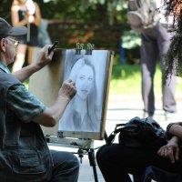 уличный художник :: Шамиль Чавкин