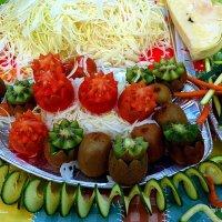 Про овощи и фрукты :: Nina Yudicheva