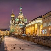 Собор Спаса на Крови под покровом ночи :: Юлия Батурина