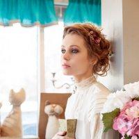 Фотосессия в цветочном бутике4 :: Денис Обухов