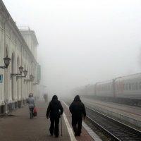 Вокзал. Прощание с Николаем II :: Peripatetik