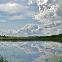 Облака купаются , тихо . :: Святец Вячеслав