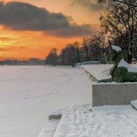 Сфинкс на закате :: Valeriy Piterskiy