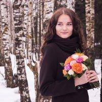 Полина - девушка-весна :: Алла Гиринова