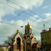 Православная церковь не далеко от ст. метро Выборгская. :: Светлана Калмыкова