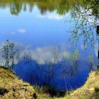 облака в реке :: Александр Прокудин