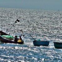 Вьетнамские рыбаки :: Вячеслав Губочкин