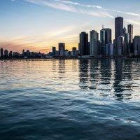 Закат в Чикаго :: Лёша