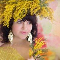 Девушка - Весна :: Райская птица Бородина