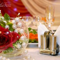 Свадебная сервировка стола :: Герман Наумов