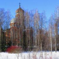 панорама с храмом :: Сергей Цветков