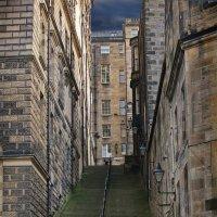 Лестница в Эдинбурге :: Ирина Бруй