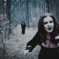 Ведьма в лесу. Фотопроект в Белгороде. :: Руслан Кокорев