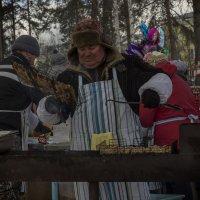 шашлыки на масленице :: Геннадий Федоров