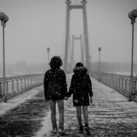 Вместе в любую непогоду :: Артём Кыштымов