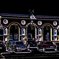 Вокзал всегда зовёт в дорогу! :: Нина Корешкова