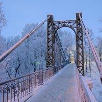 Макаровский мост. Январь, Утро. :: Владимир Шутов