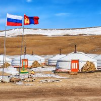 Российско-монгольская дружба :: Виктор Никитин