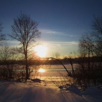 Засыпающее солнце :: Лариса Чудиновских