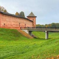 Вход в Новгородский кремль :: Константин