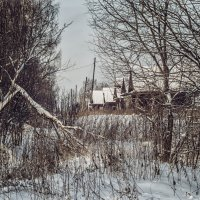 Деревенька :: Елена Артамонова