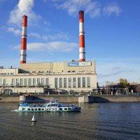 Москва ТЭЦ-12 вид с Саввинской набережной :: Swetlana V