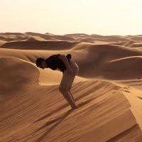 В песках Руб-эль-Хали :: Николай Ярёменко