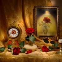 О красных розах... :: Валентина Колова