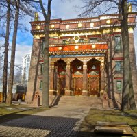 Дацан в Санкт-Петербурге,буддийский жрам :: Елена