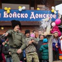"""Казачий Конный Центр """"Атаман"""" Масленица 2016 :: Андрей Lyz"""