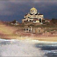 Вера через шторм проводит корабли :: Кай-8 (Ярослав) Забелин
