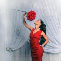 Девушка с цветком :: Андрей Володин