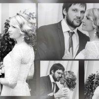 свадебный коллаж ч/б (2) :: елена брюханова