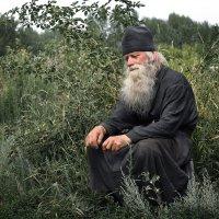 "Из серии ""Инок Иоанн - монах отшельник"". :: Аnatoly Polyakov"